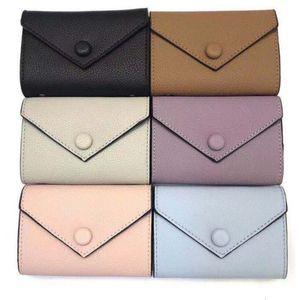 Deri kadın cüzdan womens kutu kaliteli bir I0Z0 multi renk tasarımcısı kısa cüzdan Kart sahibinin bayan çanta klasik fermuar cebi