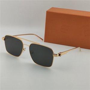 occhiali da sole classici di nuovo modo di 1267 quadrato in metallo full frame compatto ed elegante lo stile aziendale outdoor design classico caldo di vendita