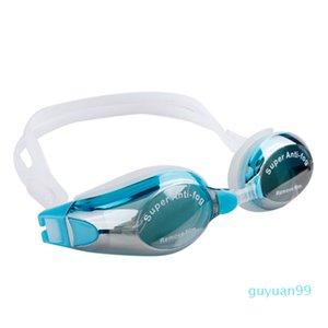 luxury- NEW Unisex Water Sportswear Anti-fog UV Shield Protect Waterproof Eyewear Goggles Swimming Glasses 4 color 203