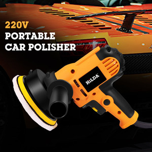 220V Electric Car Polidor Auto máquina máquina de polir ajustável velocidade lixar o enceramento Ferramentas Acessórios Car Powewr Ferramentas