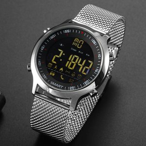 Deep waterproof sports smart watch Men EX18 50M smart watch Bluetooth pedometer activity tracking for android IOS
