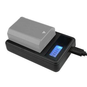 소니 NP-FZ100 배터리에 대한 USB 포트, 소니 A9와 호환 디지털 LCD 디스플레이 배터리 충전기