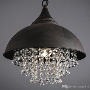 New Vintage Lamp Loft Chandelier Lighting Modern Crystal Pendant Hanging Lights for Home Hotel Restaurant Decoration