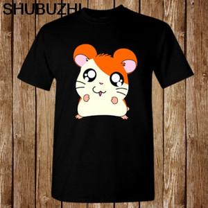 Hamtaro Hamster Macera Anime Komik Boyut S-5XL tişört erkek pamuklu tişört 4XL 5XL Euro artı boyutu damla nakliye