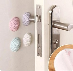 300pcs 5cm Golf Modelling Rubber Fender Handle Door Lock Protective Pad Anti Collision Home Wall Stickers Thicken Mute Fenders 4 Colors#4306
