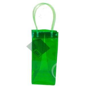 Pvc bolsa Roupa Saco de Compras macio presente Glue Bags Wine Beer Cor plástico transparente Moda Firmnesst frete grátis 2 5mya D2