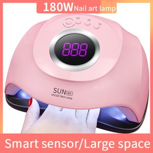 180W four speed intelligent induction phototherapy lamp nail extension nail polish baking lamp nail treatment makeup lamp