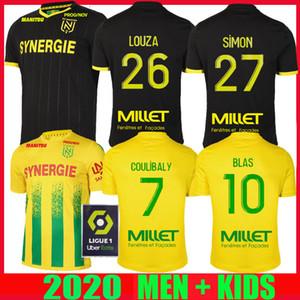 20 21 FC Nantes futbol forması ev uzakta maillot de foot 2020 2021 SIMON Louza A TOURE BLAS COCO COULIBALY YETİŞKİN ERKEK ÇOCUK formalarını