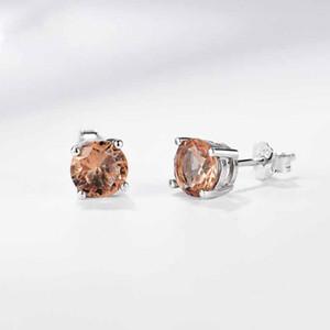 Diaspore Zultanite Gemstone Stud Earrings for Women Solid 925 Sterling Silver Engagement Colorful Earrings Fine Jewelry