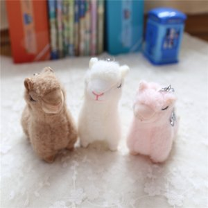 Hot New Cute Alpaca Plush Toys High Quality Soft Plush Mini Alpaca Dolls Stuffed Animal Toy Birthday Gift for Children