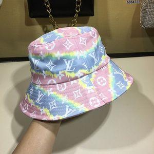 Высокое качество Женщины Мужчины дизайнер бренда Пара Fishing Hat Hip Hop Cap Maple Панама Bucket Hat Sun Flat Top рыбацкие шляпы шапки