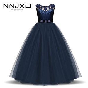 New Year Christmas Dress For Girls Santa Clus Costume Kids Dresses For Girls Princess Dress Evening Party Dress 3 6 7 8 10 Years T200713