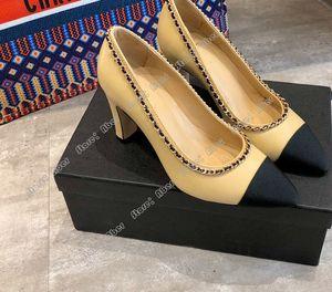 Aber высоких каблуков новых женских смешанной colorset комфорт для ног квадратного каблука сексуального прома свадебных туфли из натуральной кожи женской обуви носков Basic
