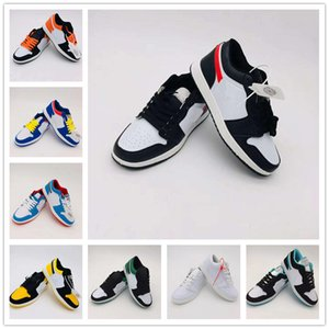 Brand Mens Skateboard Sports Shoes 1s OG Men Women Low Top Leather Casual Flat Shoes Sneakers Fashion Unisex Zapatos Traienrs 36-44