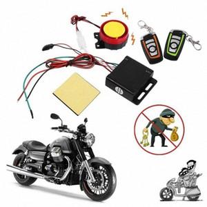 Sistema Sistema de alarma de dos vías del motor de la motocicleta Vespa antirrobo de alarma de seguridad de arranque del motor de control remoto clave 186J #