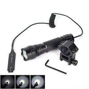 501B conjunto tático XML T6 LED 2000 lumens com lanterna de montagem clipe interruptor lanterna e pressostato