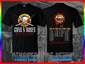 Guns N' Roses Tişört Dünya Turu 2020 Not This Ömür Concert Tee Tişört içinde