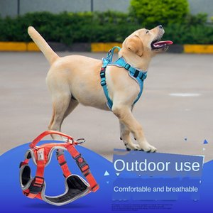 Pet Harness Pet Supplies Explosion-Proof Breathable Dog Chest Strap Custom