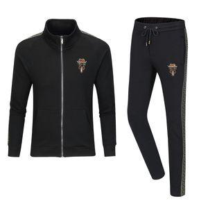 2020 new two-piece fashion sweatshirt sportswear track suit autumn men's suit M-3XL