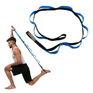 الجاذبية المضادة أحزمة اليوغا تمتد الشريط مع حلقات بيلاتيس تجريب الساق وتمتد ممارسة الفرقة حبل اليوغا الهواء اكسسوارات الأرجوحة