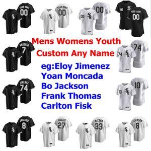 Beyzbol Formalar Bayan Ryan Cordell Jersey 11 Luis Aparicio 23 Robin Ventura Zack Collins Ryan Goins Michael Kopech Özel Dikişli