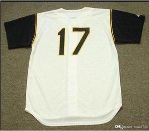 Custom Men Youth women Vintage DOCK ELLIS 1969 Home Vintage jersey SIZE S-4XL or custom any name or number Baseball Jersey
