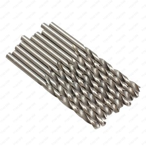 Hot sales 10PCS 4mm Micro HSS Twist Drilling Auger bit for Electrical Drill Free shipping