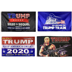 Fast Shipping 3x5 Trump Flags, Rambo Train Tank Women For Trump Flags, 100% Polyester 100% Bleed , Free Shipping