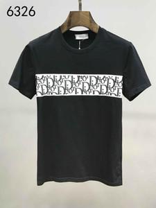 Herren T-Shirts 2020 spring neue Marken-Designer mit kurzen Ärmeln Art und Weise gedruckte Augen Tops Lässige Outdoor-Kleidung 6 Farben M-3XL