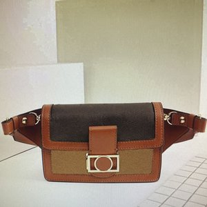 M44586 Mono Women Shoulder Handbags Purses Cross Body DAUPHINE Belt Waist Bag Fashion Classic Reverse Lady Crossbody Chest Bags 44586