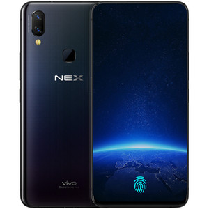 """Originale telefono cellulare VIVO NEX 4G LTE 8GB di RAM 128 GB ROM Snapdragon 710 Octa core Android 6.59"""" Phone 12MP Fingerprint ID mobile Schermo intero"""