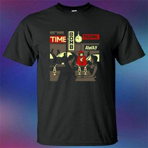 Billy Talent Banda Time Bomb Ticking Album Homens Preto T-shirt Longe Tamanho S-5XL