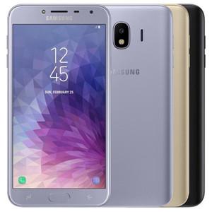 Reformado original para Samsung Galaxy J4 J400F Dual SIM 5,5 pulgadas Quad Core 16G / 32GB ROM 16MP cámara desbloqueado LTE 4G teléfono celular elegante DHL 10pcs