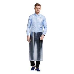 Long section PVC waterproof aprons for adults kitchen industrial factory apron for men and women