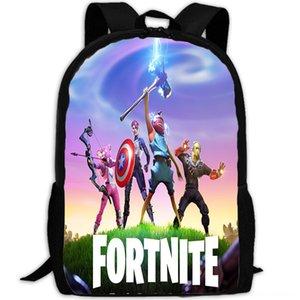 kale gece erkek ve kadın seyahat seyahat sırt çantası Bag sırt çantası çanta öğrenci Tek katmanlı schoolbag fortnite Sıcak satış