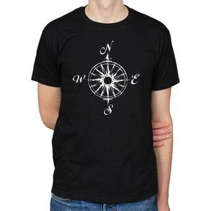 2020 Vente chaude 100% coton NAUTIQUE COMPASS MARITIME BATEAU VOILES BATEAU MER OCEAN SYMBOLE T-shirt homme T Tee shirt