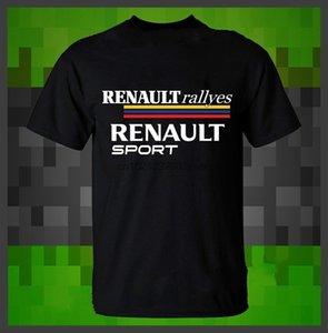 New Renault Sport T-shirt Renault rallyes Men # 39s T-shirt