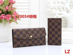 new plaid style mens wallet famous men designer handbags purse special canvas multiple short small bifold wallet gift