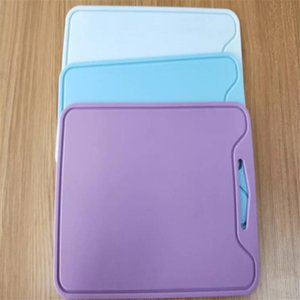 Silicone Cutting boards Non-Slip Chopping Boards Mats 30*22cm Fruit Vegatable Chopping Blocks Kitchen Tools T200708