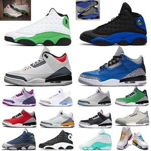 nike air jordan retro 13 jordan retro 3 flint jumpman 13s hombres mujeres zapatillas de baloncesto 13s Reverse He Got Game Playground Dirty Bred hombre zapatillas deportivas