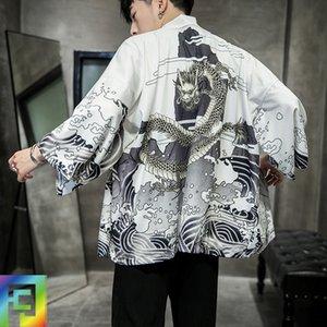 protezione solare abbigliamento cinese di nuovo stile cinese migliorato stile Buddha veste cardigan Mantello vestito degli uomini sciolti Tang vestito di linguetta suitcloak