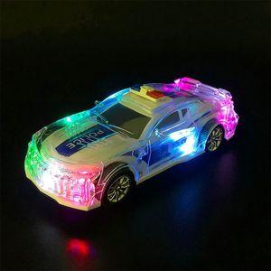 De lujo coche de juguete coche de juguete SUV Modelo Para Range Rover Velar Colección OPolice con luces y música Juguetes de coches regalo de los niños