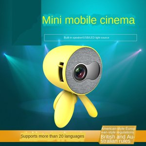 Freeshipping 2020 new mini projector portable home children projection support HD 1080P portable TV with HD-MI USB AV Interface