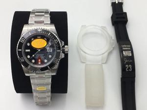 NOVO Top N fábrica de relógios V10 versão de atualização 2836/3135 movimento mecânico anel de cerâmica de produção de aço 904L de relógios de grife dos homens
