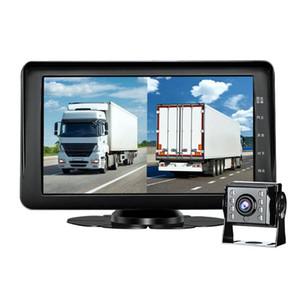 Clásica práctica de múltiples funciones durable de HD 1080P DVR Camión Bluetooth manos libres dashcam con la cámara de visión trasera para DVR coche Phisung GT6
