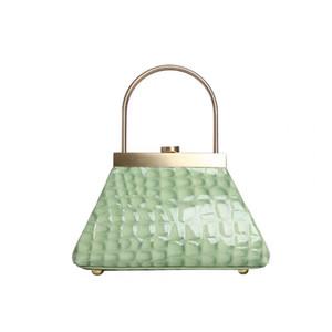 Abera Frühlings-Sommer-neue Art und Weise Lange Panelled Flap Acryl Messenger Bag Clutch-Partei-Beutel Weibliche Handtaschen