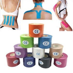 Newly 5M Waterproof Sports Elastic Kinesiology Tape Roll Breathable Physio Muscle Strain Injury Support Tool