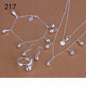 S Same Price Mix Style Women &#039 ;S Sterling Silverplated Jewelry Sets ,Fashion Wedding 925 Silver Necklace Bracelet Earring Ring Jew