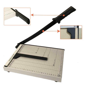 12 Sheet Professional Guillotine Paper Cutter A4 Paper TrimmerMetal Base Paper Cutter TrimmeR