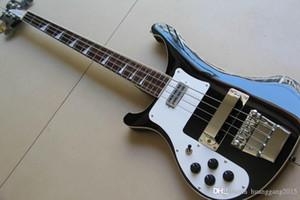 Commercio all'ingrosso chitarra Mancino Rick 4003 BASS chitarra elettrica superiore In Black 120802